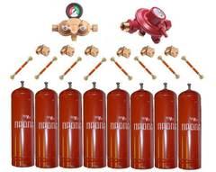 Газобаллонная система GOK (премиум) для подключения 8 металлических баллонов