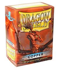 Dragon Shield - Медные протекторы 100 штук