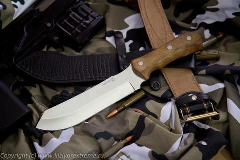 Охотничий нож Герильяс Полированный Орех