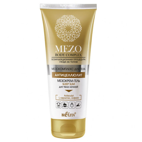Белита MEZOBodyComplex Мезокрем-гель Sleep Slim д/тела ночной 200мл