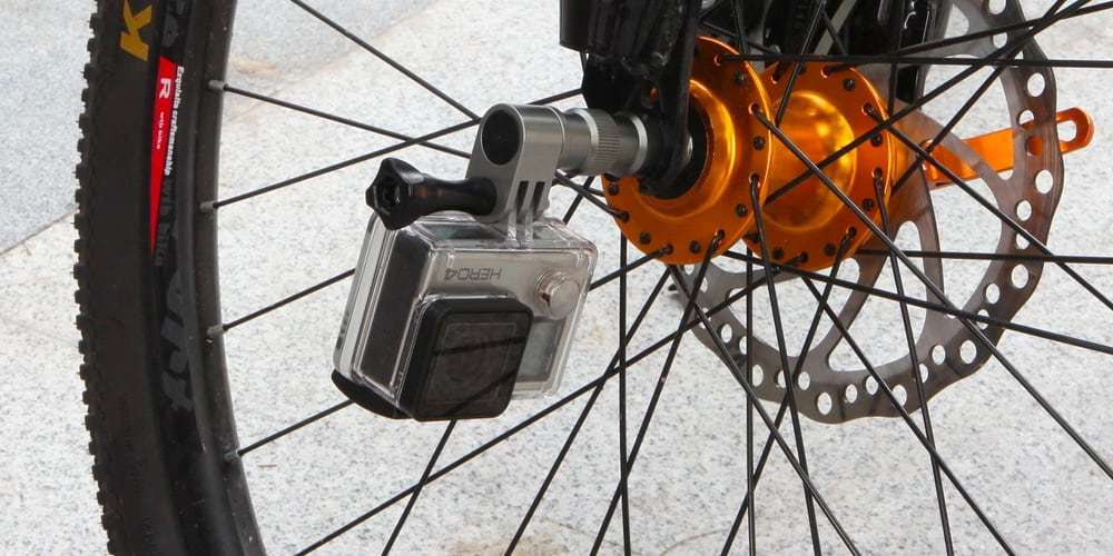 Крепление на колесо велосипеда Selans на колесе с камерой