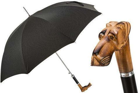 Зонт-трость Pasotti Hand Carved Great Dane Umbrella, Италия