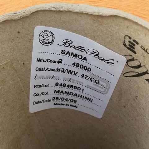 Botto Poala SAMOA, мандарин (100 г)