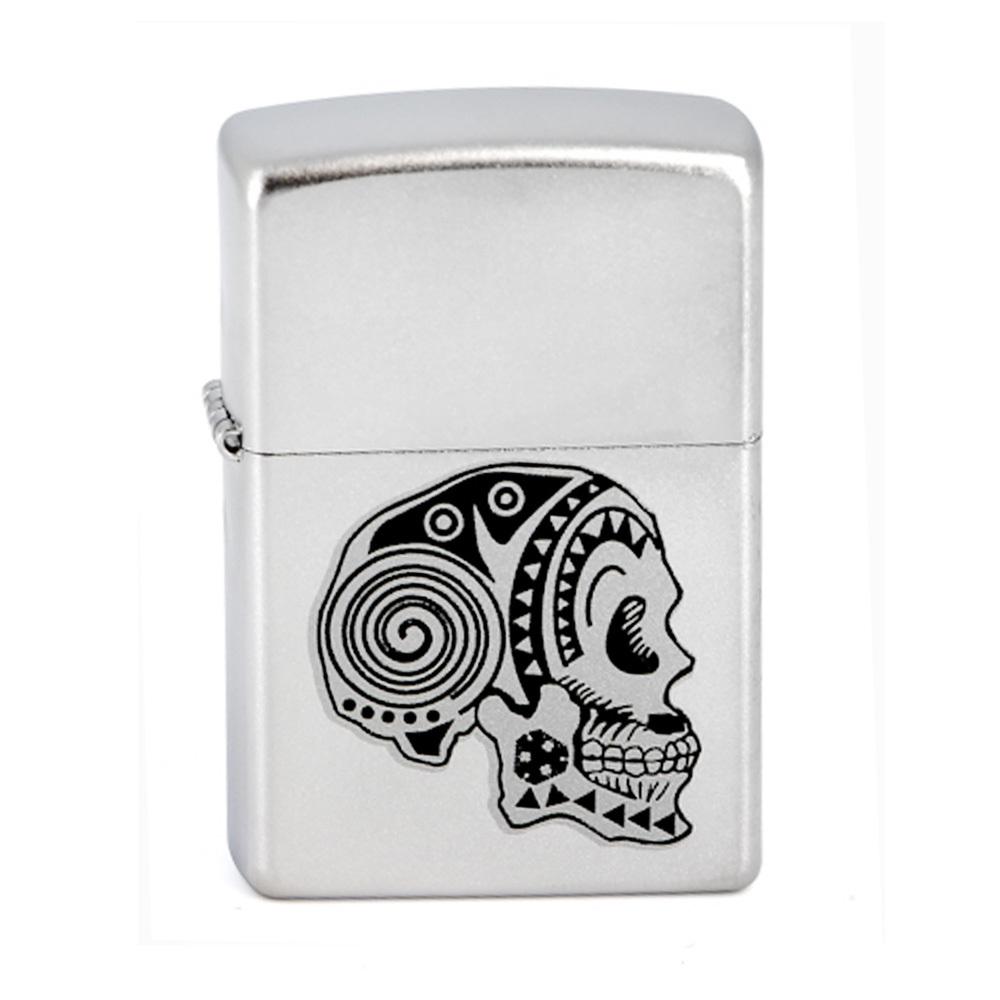Зажигалка Zippo №205 Tattoo Skull