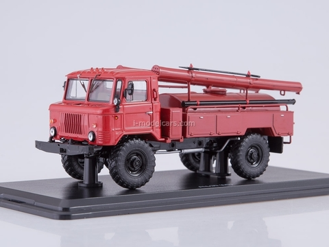 GAZ-66 AC-30 red 1:43 Start Scale Models (SSM)