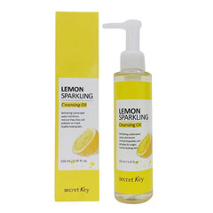 Secret Key Lemon Sparkling Cleansing Oil - Гидрофильное масло с экстрактом лимона