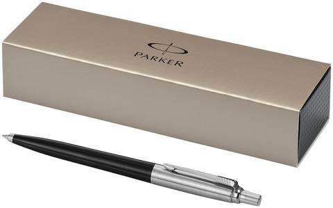 Набор с гравировкой: Блокнот и Шариковая ручка Parker Jotter Black CT123