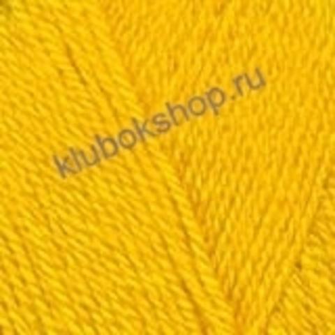 Пряжа ПОДМОСКОВНАЯ (Троицкая) 596 желтый