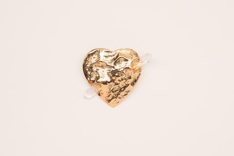 Винтажная брошь «Влюбленное сердце» от YSL.