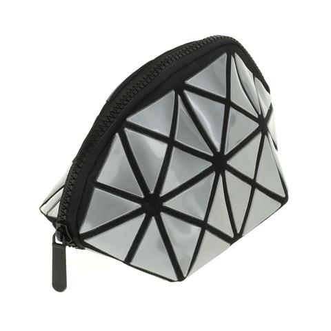 Косметичка женская Musaa Geometric bags, silver, фото 3
