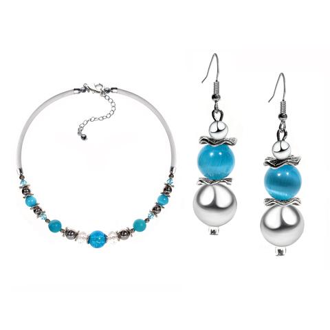 Комплект ожерелье и серьги Eleganza цвет 036A