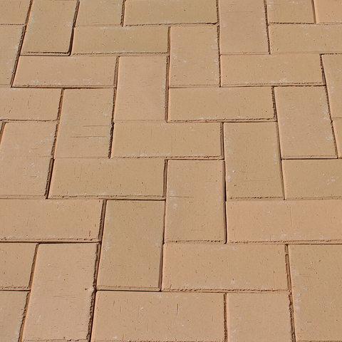 ЛСР, RAUF Design, Кремовый Париж, 200x100x50 - Клинкерная тротуарная брусчатка