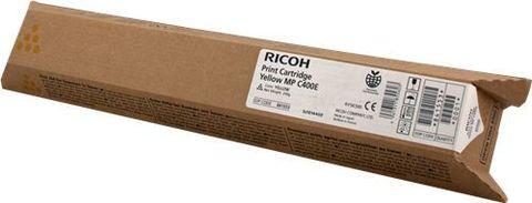 Картридж Ricoh MPC400E жёлтый для Ricoh Aficio MPC300/C300SR/C400/C400SR/MPC401SP/SRSP/ZSP/ZSRSP. Ресурс 10000стр (842041 / 842236)