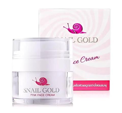 Улиточный омолаживающий крем для лица Bm.B Snail Gold Pink Face Cream, 15 мл