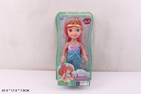 СПЕЦЦЕНА Кукла 010 на картоне п/пл.сказочная принцесса/СЛ010-В2