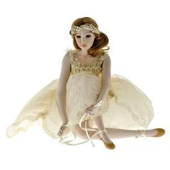 Кукла фарфоровая коллекционная Marigio Anna