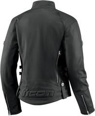 Мотокуртка - ICON HELLA (женская, кожа, черная)