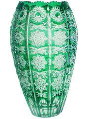 Ваза 23см Ajka Crystal Vase зеленая