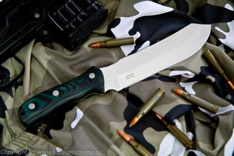 Охотничий нож Герильяс Полированный Микарта