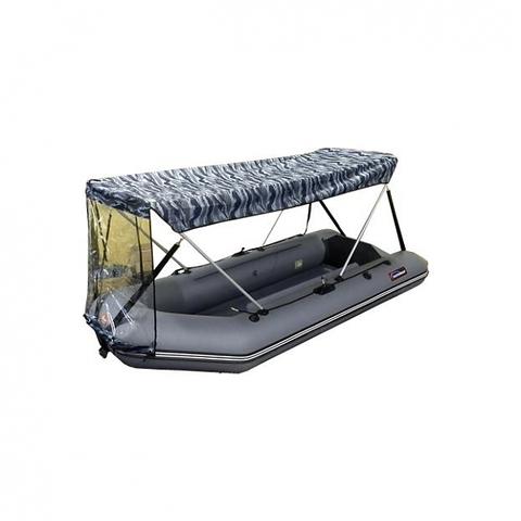 Тент-крыша серый камуфляж