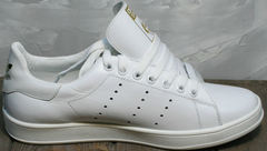 Кроссовки кеды женские Adidas Stan Smith White-R A14w15wg