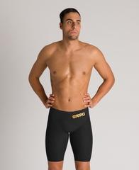 НОВИНКА 2020!!! Стартовые шорты ARENA Men's Powerskin Carbon Glide Jammer - FINA approved black/gold ПОД ЗАКАЗ