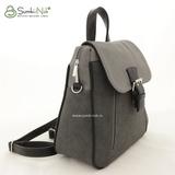 Рюкзак Саломея 348 мульти флок серый