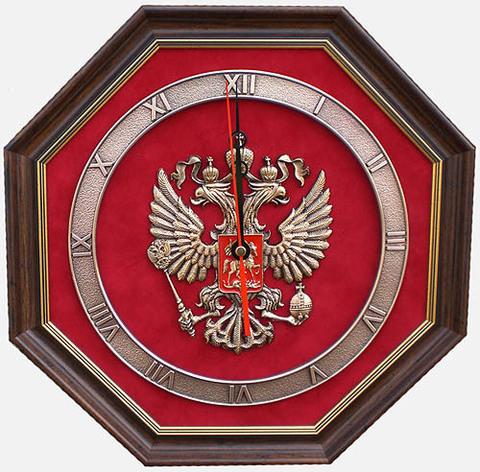 """Часы настенные """"Герб России"""" (1)"""