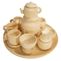Комплект деревянной посуды Вальда