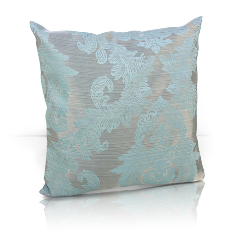 Подушка декоративная жаккард Вера голубой