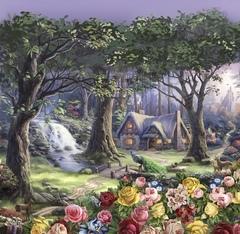 Футболка Сказочный лес New 1239-1