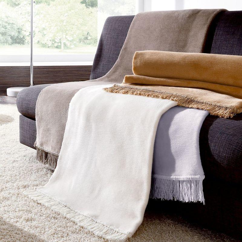Пледы Плед 50х200 Biederlack Cover Cotton S&P Silber pled-biederlack-cover-cotton-sp-germaniya.jpg