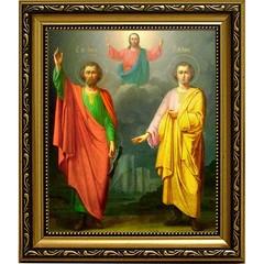 Флор (Фрол) и Лавр Святые мученики. Икона на холсте.