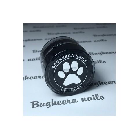 Bagheera Nails Чёрная гель-краска без липкого слоя 5 гр. BG02