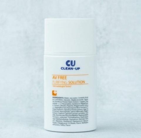 Флюид-эссенция для проблемной кожи, 30 мл / CU Skin AV Free Purifying Solution