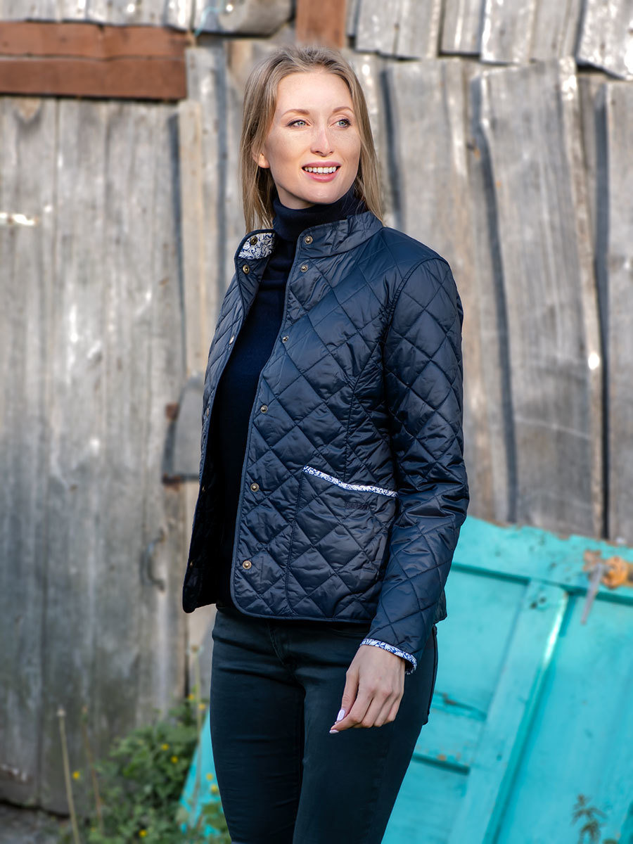 Barbour куртка Evelyn Quilt LQU1010/NY71