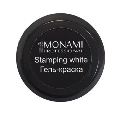 MONAMI гель-краска Stamping WHITE, 5 гр