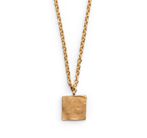 Медальон квадратный