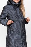 Куртка для беременных 05124 сине-серый