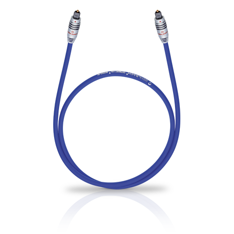 Oehlbach XXL 80 Optocable 2.00m blue, кабель оптический