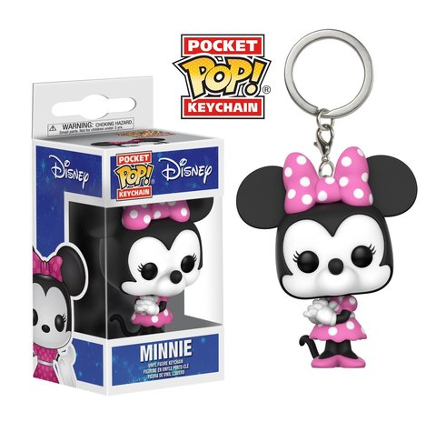 Брелок Funko Pocket POP! Keychain: Disney: Minnie Mouse 21771-PDQ