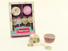 6604 FISSMAN Набор для выпечки кексов 50x32 мм