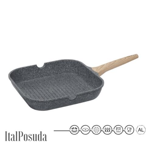 Сковорода Гриль NADOBA MINERALICA, 28х28 см