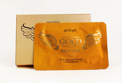 Petitfee Gold Neck Pack Hydrogel Angel Wings