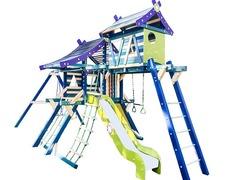 Детская деревянная площадка Хижина Санторини