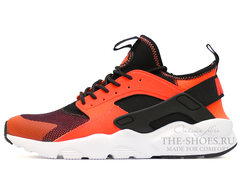 Кроссовки Мужские Nike Air Huarache Run Ultra Hyper Orange Black White
