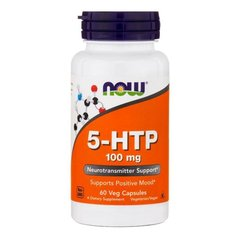 NOW 5-HTP 100mg 60 (VCAPS)