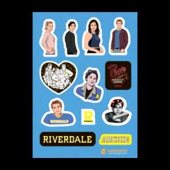 Набор стикеров Riverdale