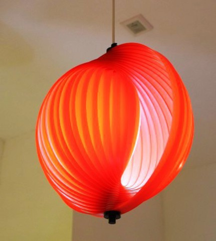 replica Verner Panton Moon  red