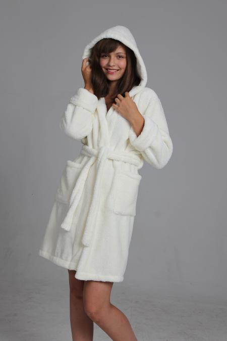 Выкройка халата запашного с капюшоном